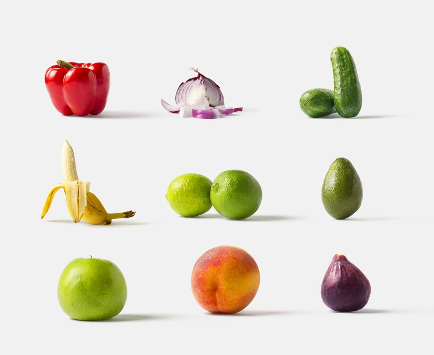 Fruits and vegetables for your mockups scenes  ‍  ‍