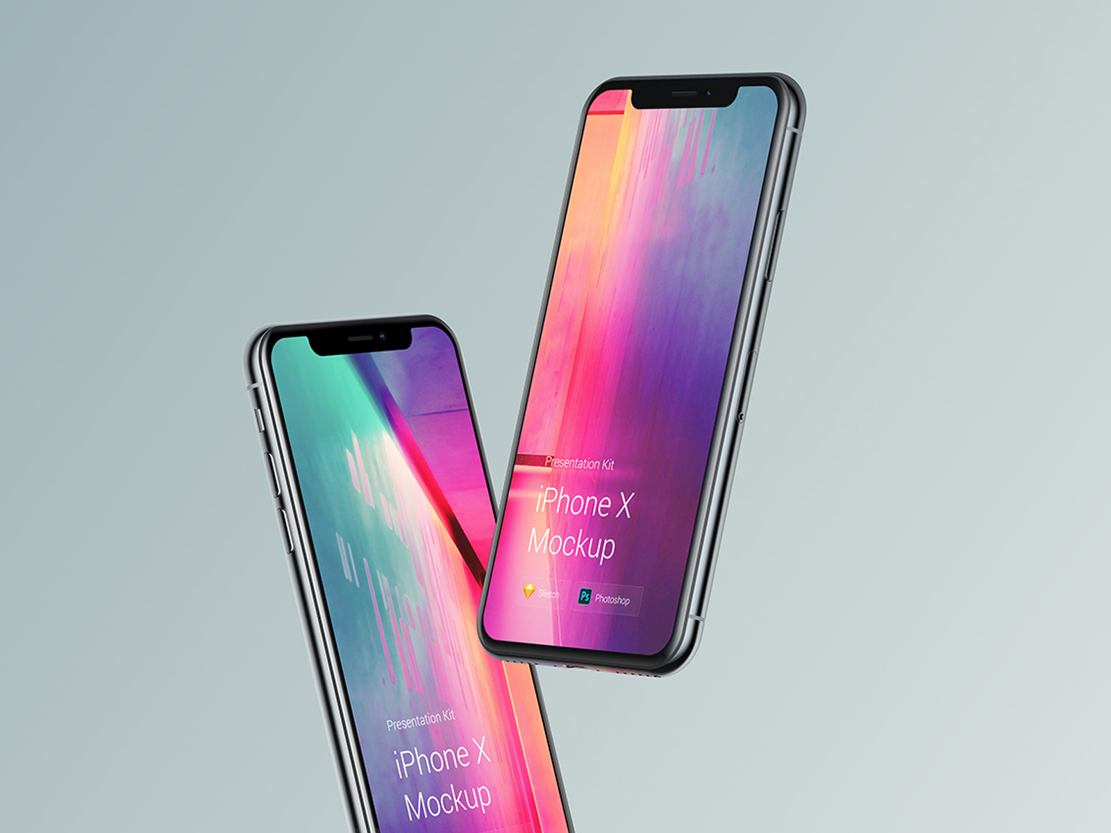 Collection of awesome iPhone X mockups