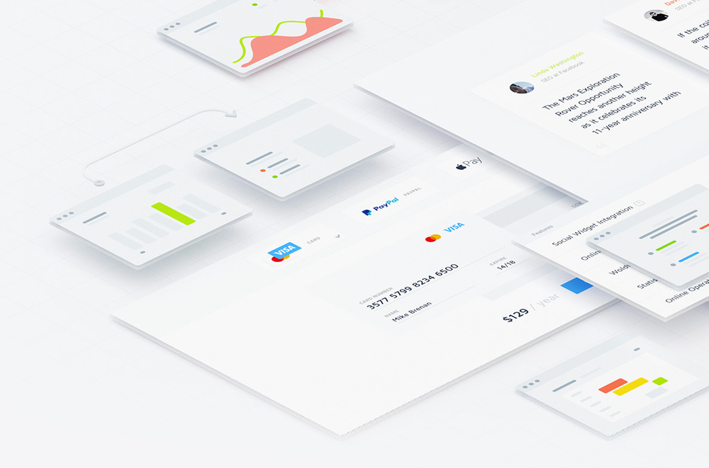 lstore.graphics UI Kit for Sketch example